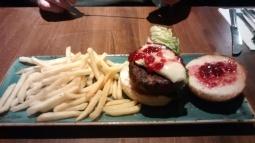 Brie & Cranberry Burger